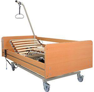 Electrical bed / 4 sections aks-S4 aks - Aktuelle Krankenpflege Systeme