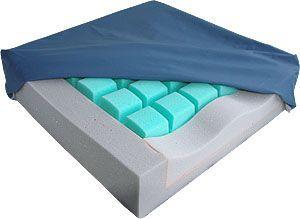 Anti-decubitus cushion / wheelchair / foam 90 kg | aks-multisit aks - Aktuelle Krankenpflege Systeme