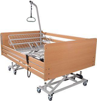 Electrical bed / height-adjustable / 3 sections / bariatric aks-SB XXL aks - Aktuelle Krankenpflege Systeme