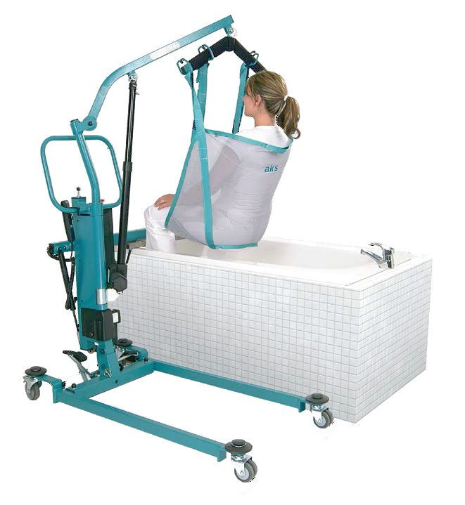 Folding patient lift / mobile aks-foldo® aks - Aktuelle Krankenpflege Systeme