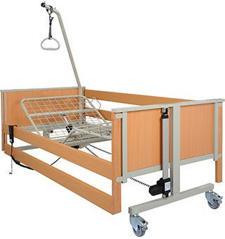 Electrical bed / 3 sections aks-L5 aks - Aktuelle Krankenpflege Systeme