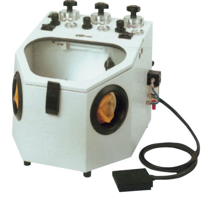 3 tanks dental laboratory sandblaster ESB 3 EUROCEM