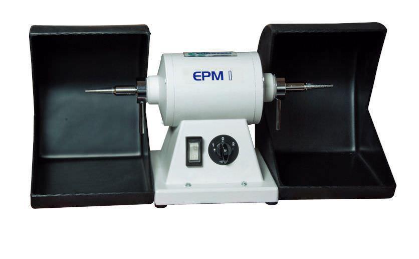 Dental laboratory polishing lathe with vacuum cleaner EPM 1 EUROCEM