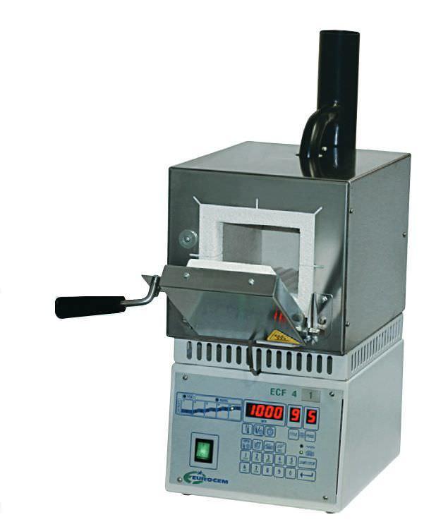 Dental laboratory oven ECF 4 EUROCEM