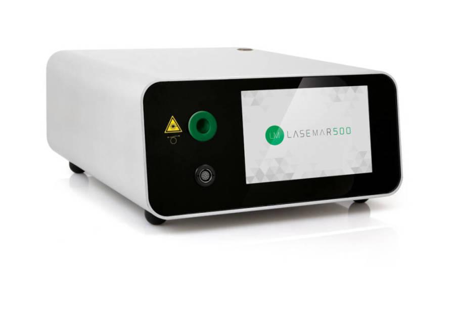 Dermatological laser / diode / tabletop 532 nm   LASEmaR®500 Eufoton Medicalasers