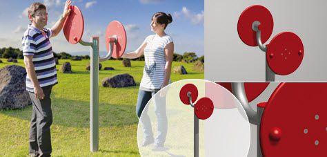 Upper limb exerciser / outdoor MobiGym Erlau