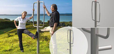 Exterior stretching bar StretchGym Erlau
