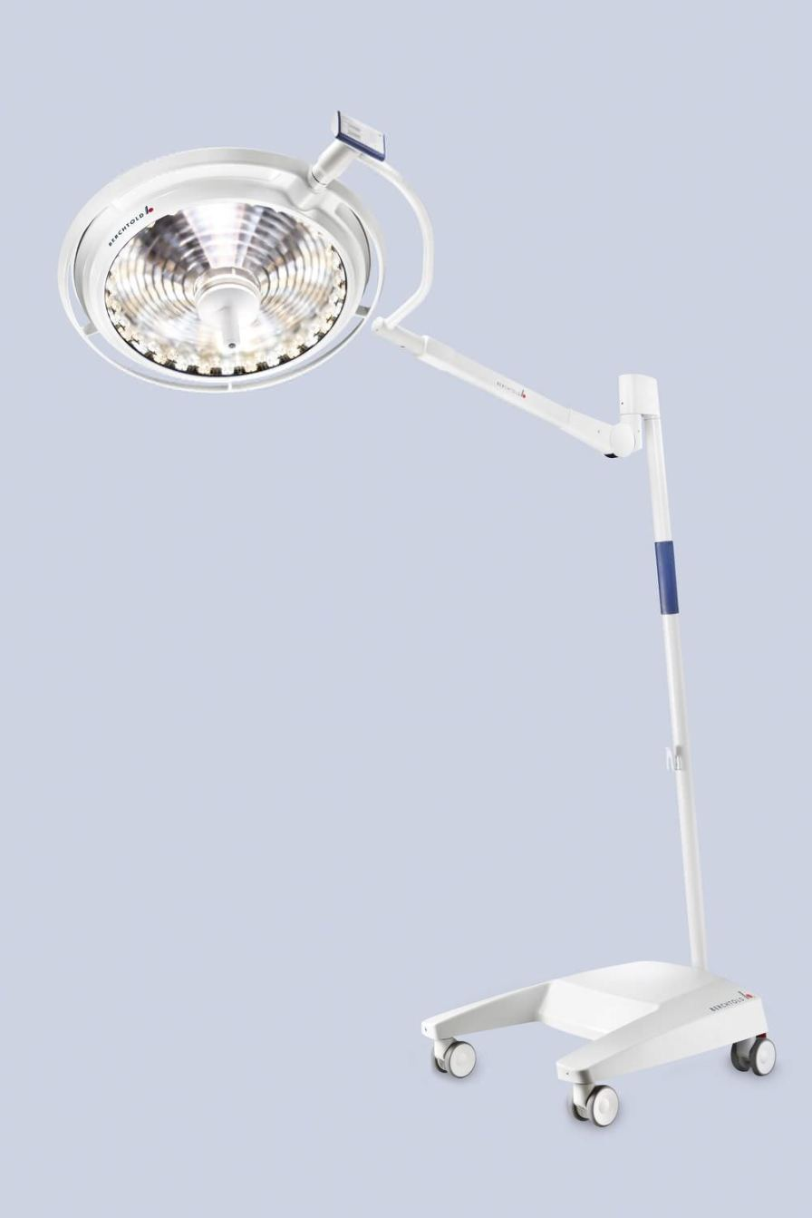 LED surgical light / ceiling-mounted / 1-arm 160 000 lux   CHROMOPHARE F 628 Berchtold