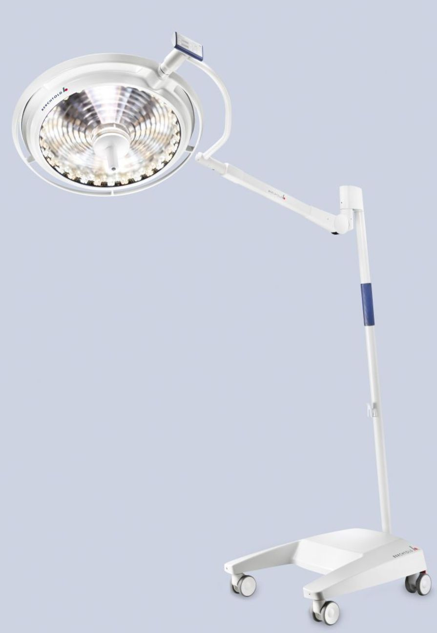 LED surgical light / mobile / 1-arm 160 000 lux   CHROMOPHARE Berchtold