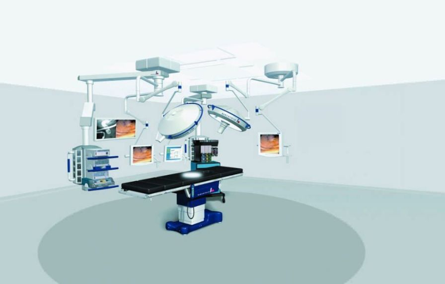 Integrated operating room SUPERSUITE Berchtold