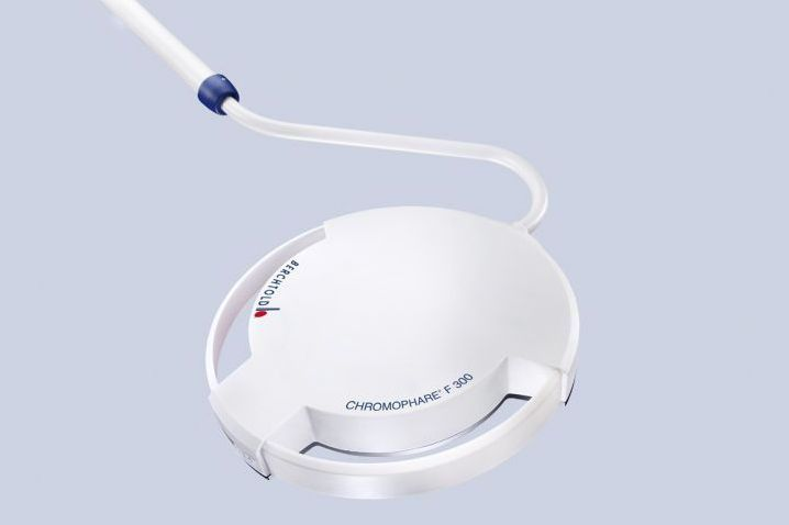 Minor surgery examination lamp / LED 55 000 Lux   CHROMOPHARE F 300 Berchtold