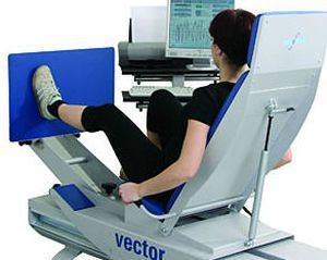 Weight training station (weight training) / leg press / rehabilitation Vector Up Easytech