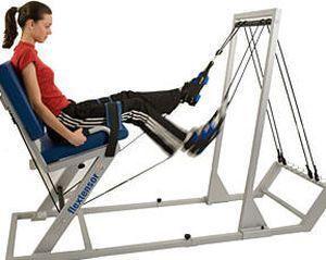 Lower limb exerciser Flextensor Easytech