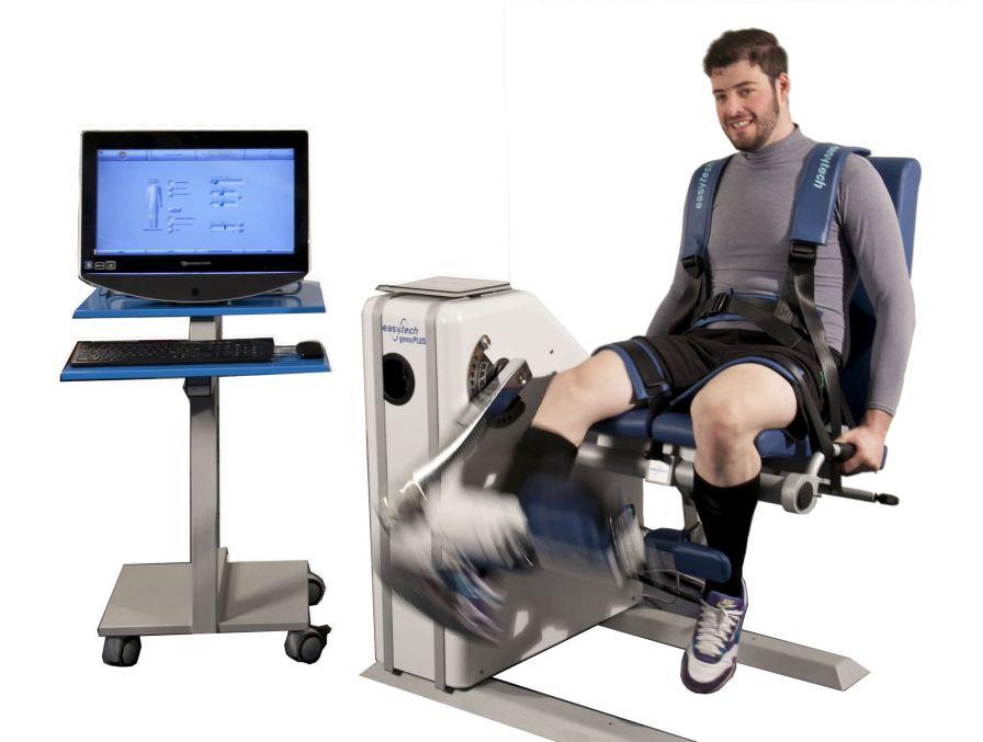 Lower limb exerciser / computer-based Genu 3 Easytech