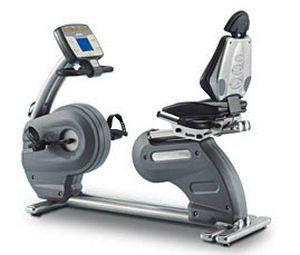 Semi-recumbent exercise bike Motus BVT Easytech