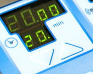 Microwave diathermy unit (physiotherapy) / on trolley Delta basic Easytech