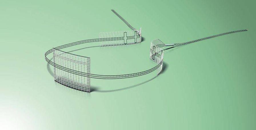 Urinary incontinence mesh reconstruction mesh / woman DynaMesh®-CESA / -VASA DynaMesh / FEG Textiltechnik