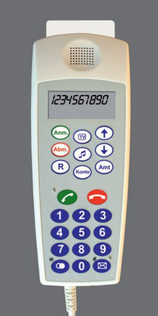 Medical handset with hygienic keypad CP 300/CP 310 Ergophone