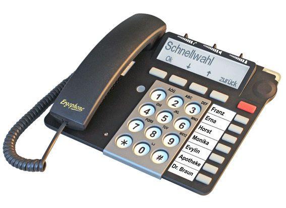 Medical telephone multi-function S 510 IP Ergophone