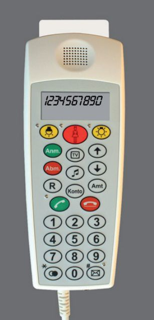 Medical handset with hygienic keypad CP 200/CP 210 Ergophone
