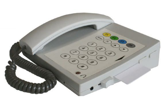 Medical telephone multi-function / with payment card readers CT 300/CT 310 Ergophone
