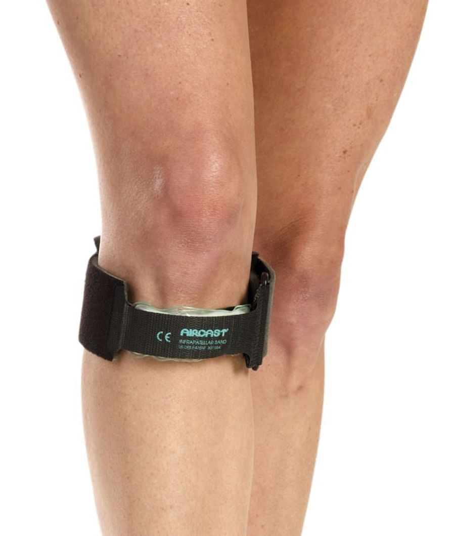 Infra-patellar knee strap (orthopedic immobilization) / inflatable Aircast