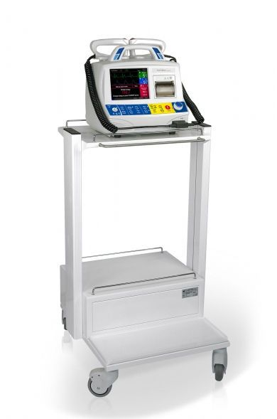 Semi-automatic external defibrillator / compact multi-parameter monitor DefiMax plus® EMTEL