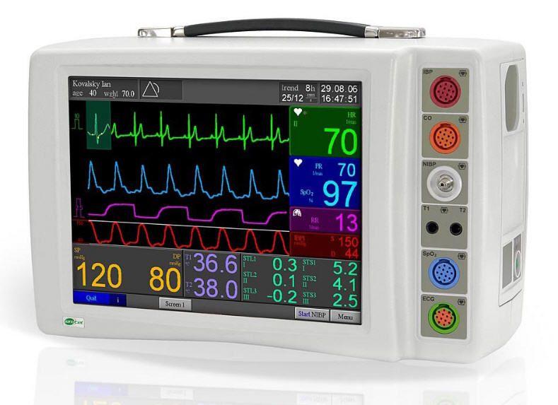 Compact multi-parameter monitor FX 2000P EMTEL