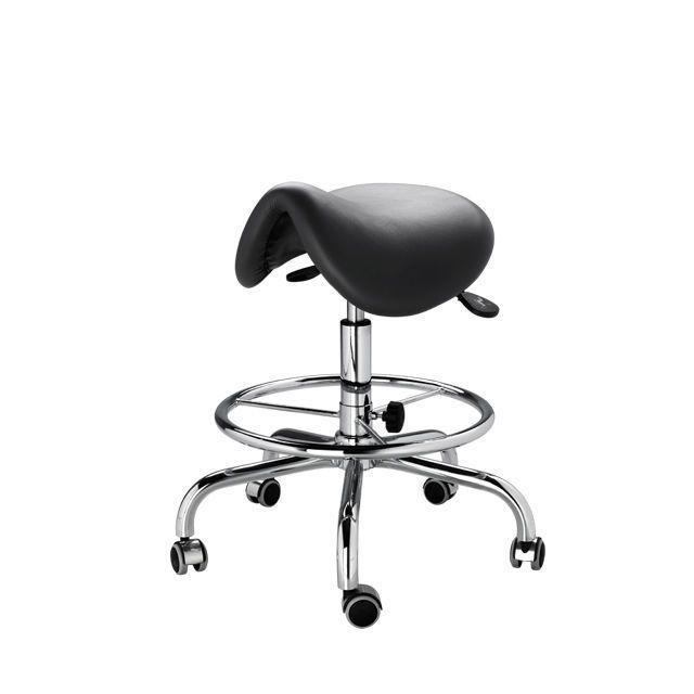 Dental stool / saddle seat / with backrest D 10L DIPLOMAT DENTAL s.r.o.