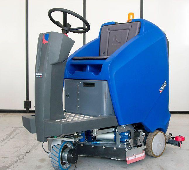 Ride-on scrubber-dryer / for healthcare facilities Dulevo H610, H610R Dulevo