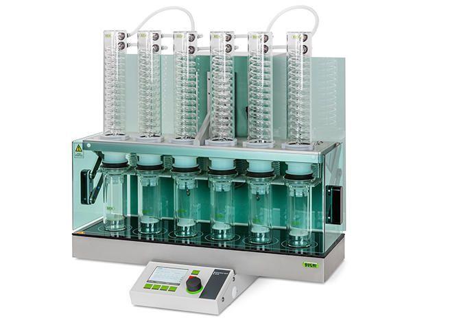 Automated solid-liquid Soxhlet extractor E-812 HE, E-816 HE Büchi