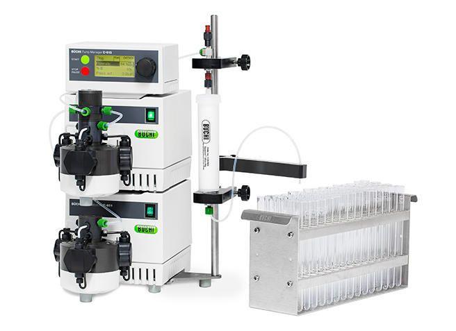 Automatic flash chromatography system Sepacore® Büchi