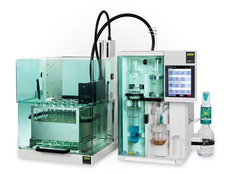 Laboratory distillation system (Kjeldahl type) KjelMaster K-375 Büchi