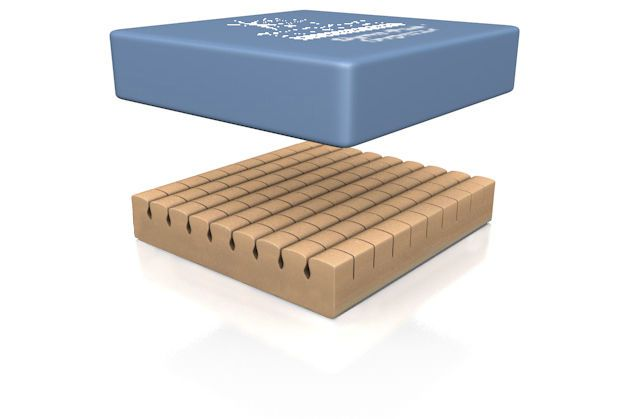 Anti-decubitus cushion / wheelchair / foam Dyna-Pad™ Direct Healthcare Services