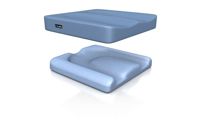Wheelchair cushion / anti-decubitus / foam Dyna-Tek™ Profile Direct Healthcare Services