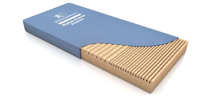 Anti-decubitus mattress / for hospital beds / foam / grooved structure Dyna-Form™ Jupiter Direct Healthcare Services