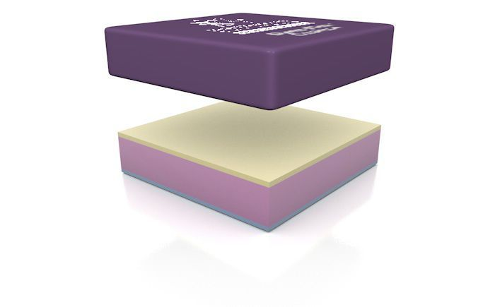 Anti-decubitus cushion / visco-elastic / foam Dyna-Flex™ Direct Healthcare Services