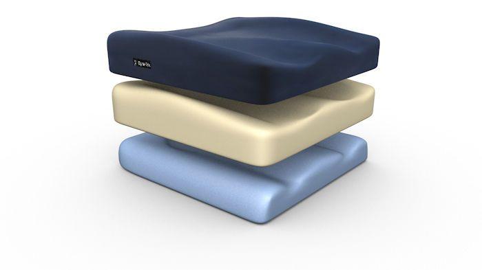 Anti-decubitus cushion / visco-elastic / foam Dyna-Tek™ Direct Healthcare Services