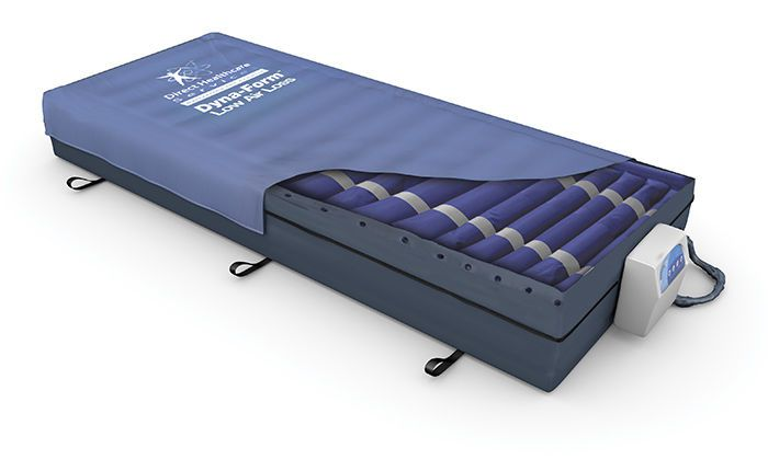 Anti-decubitus mattress / for hospital beds / dynamic air / tube Dyna-Form™ Direct Healthcare Services