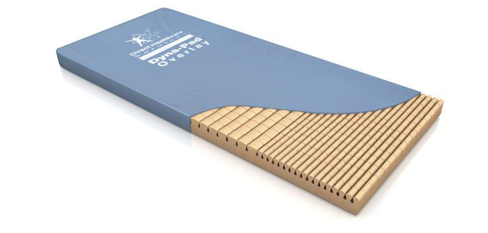 Anti-decubitus overlay mattress / for hospital beds / foam Dyna-Pad™ Direct Healthcare Services