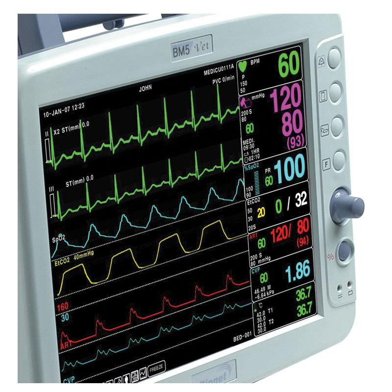 Compact multi-parameter monitor / veterinary / transport BM5Vet Bionet
