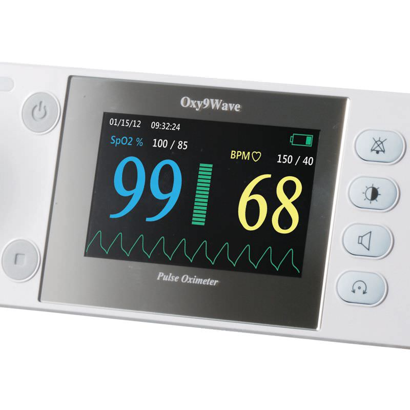 Handheld pulse oximeter / with separate sensor 40 - 100 % SPO?   Oxy9Wave Bionet