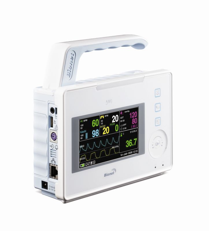 Compact multi-parameter monitor / transport BM1 Bionet