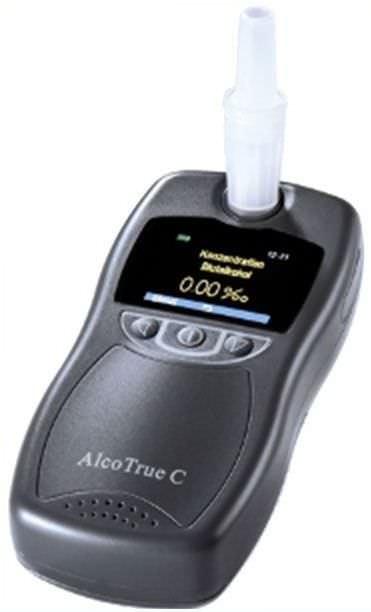 Alcohol breath tester digital AlcoTrue® C Bluepoint Medical
