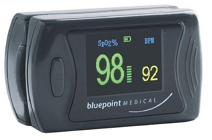 Fingertip pulse oximeter / compact 0 - 100 % SpO2 | OxyTrue® FC Bluepoint Medical