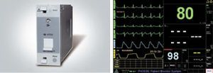Modular multi-parameter monitor DIONA 3F Medical Systems