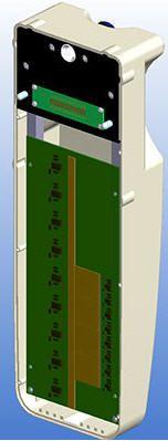 Panoramic radiography flat panel detector SNAP225 AJAT