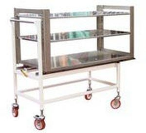 Unloading trolley / loading / for sterilization chamber SLT BMM Weston