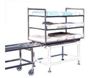 Sterilizer load cooling rack BMM Weston