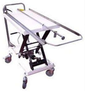 Unloading trolley / loading / for sterilization chamber / electro-hydraulic BMM Weston